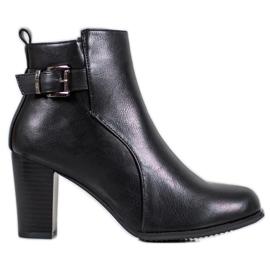 J. Star Comfortabele laarzen zwart
