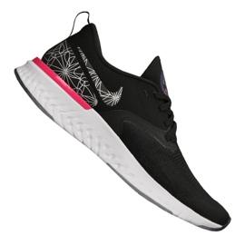 Nike Odyssey React 2 Flyknit Gpx M AT9975-002 schoenen zwart