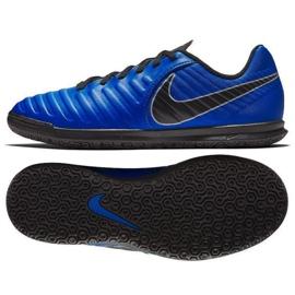 Nike Tiempo Legend 7 Club Ic Jr AH7260 400 voetbalschoenen blauw marineblauw