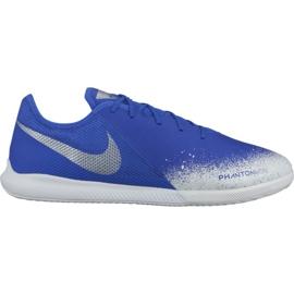 Nike Phantom Vsn Academy Ic M AO3225-410 indoorschoenen wit, blauw blauw