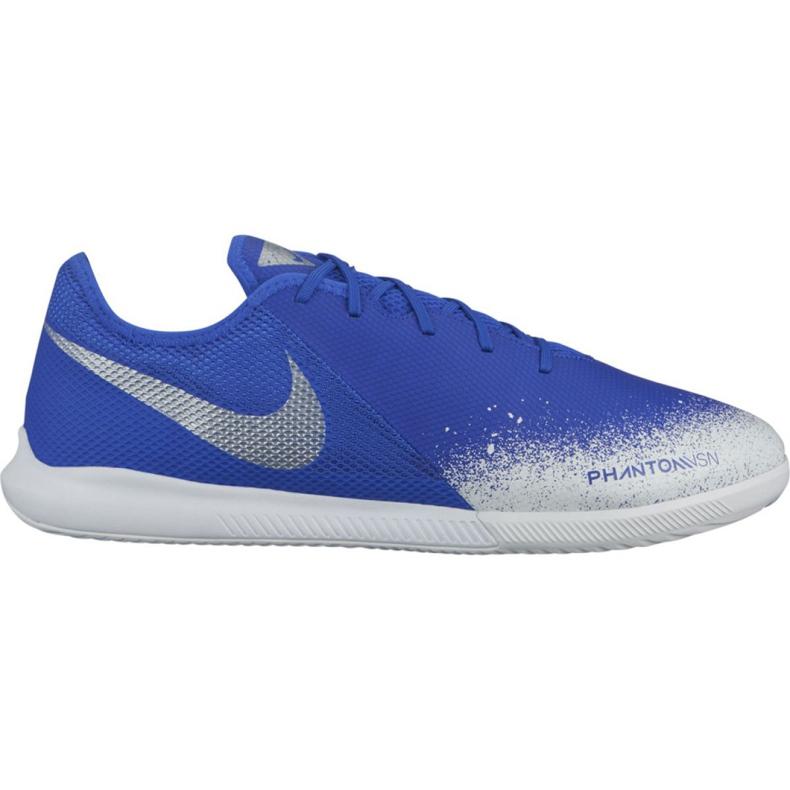 Nike Phantom Vsn Academy Ic M AO3225-410 indoorschoenen blauw wit, blauw