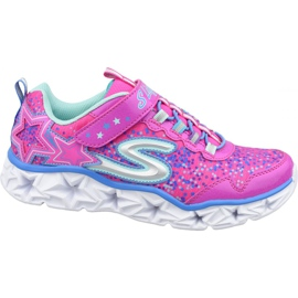Skechers Galaxy Lights Jr 10920L-NPMT schoenen roze