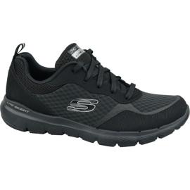 Skechers Flex Appeal 3.0 W 13069-BBK schoenen zwart