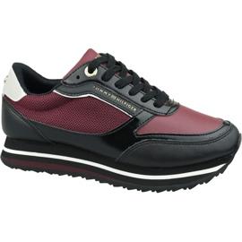 Tommy Hilfiger Tommy-sneaker met retro-merk W FW0FW04305 Gby rood