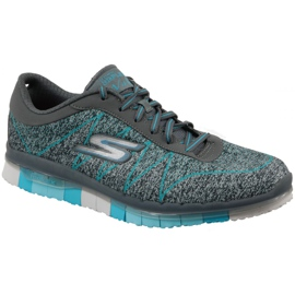 Skechers Go Flex W 14011-CCTQ schoenen grijs