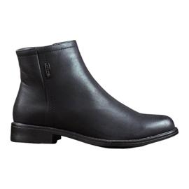 J. Star Klassieke warme laarzen zwart