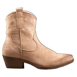 Seastar Warme cowboylaarzen bruin