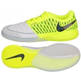 Nike Lunargato Ii Ic M 580456-703 indoorschoenen geel wit, geel