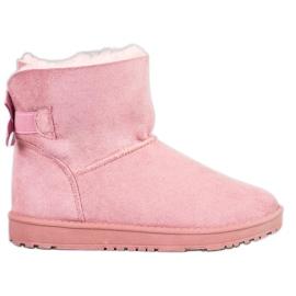 Haver Comfortabele Mukluki roze