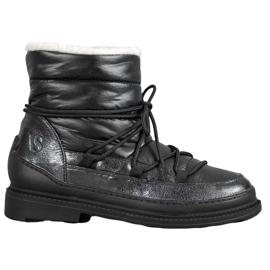 Vices Textiel Snowboots zwart