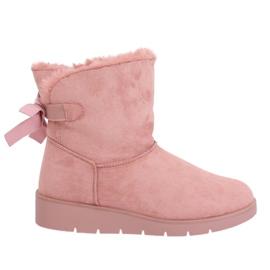 Dames snowboots roze A-3 Pink