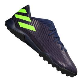 Adidas Nemeziz Messi 19.3 Tf M EF1809 schoenen paars, groen purper