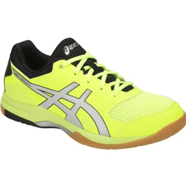 Asics Gel-Rocket 8 M B706Y-750 volleybalschoenen geel geel