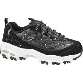 Skechers D'Lites W 13087-BKRG schoenen zwart