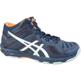Asics Gel-Beyond 5 Mt M B600N-402 volleybalschoenen marine marineblauw