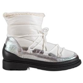 Textiel Snowboots VICES wit