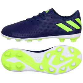 Adidas Nemeziz Messi 19.4 Fg Jr EF1816 schoenen purper violet