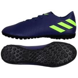 Adidas Nemeziz Messi 19.4 Tf M EF1805 schoenen marineblauw marine