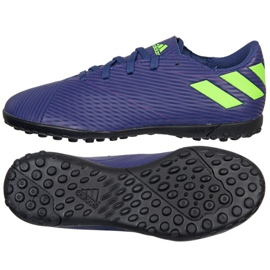 Adidas Nemeziz Messi 19.4 Tf Jr EF1818 schoenen marineblauw marine