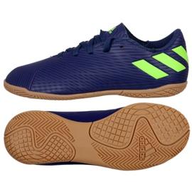 Adidas Nemeziz Messi 19.4 In Jr EF1817 voetbalschoenen marine marineblauw