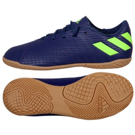 Adidas Nemeziz Messi 19.4 In Jr EF1817 voetbalschoenen marineblauw marine