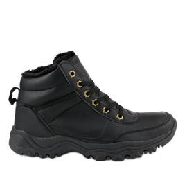 Zwarte geïsoleerde schoenen GT-9578-1