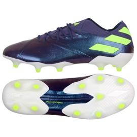 Adidas Nemeziz Messi 19.1 Fg M EG7332 schoenen violet purper