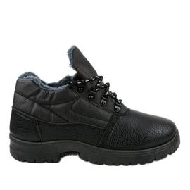 7M700 zwarte wandelschoenen