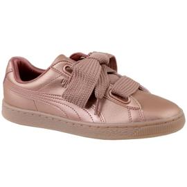 Puma Basket Heart Copper W 365463-01 schoenen roze