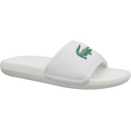 Lacoste Croco Slide 119 3 M 737CMA0020082 slippers wit