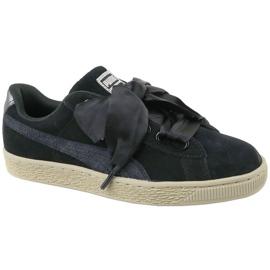 Puma Basket Heart Metallic Safari W 364083-03 schoenen zwart