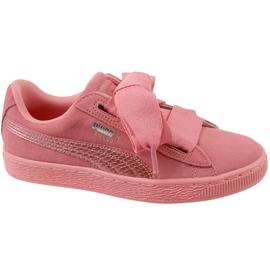 Puma Suede Heart Snk Jr 364918-05 schoenen roze