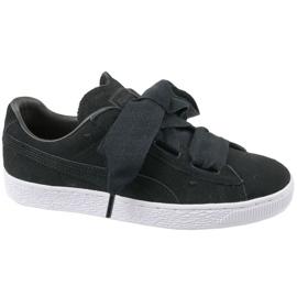 Puma Suede Heart Jr 365135-02 schoenen zwart