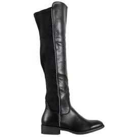 Bestelle Klassieke zwarte laarzen