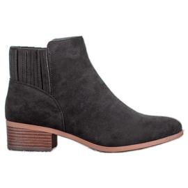 SDS Slip-on laarzen zwart