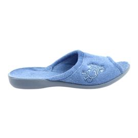 Befado Teef voor damesschoenen pu 256D003 blauw