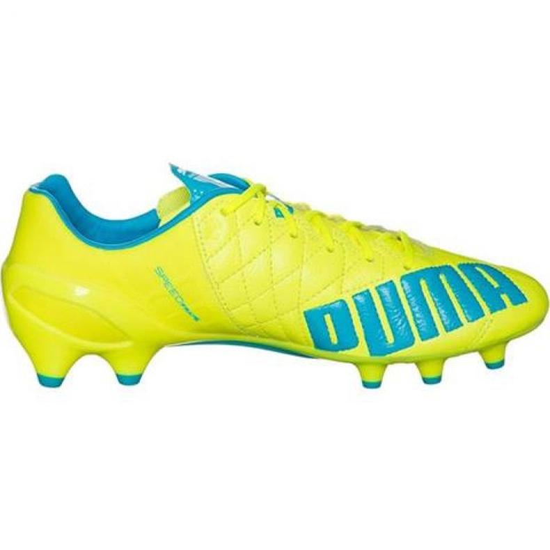 Puma Evo Speed 1.4 Lth Fg M 103615 03 voetbalschoenen geel geel