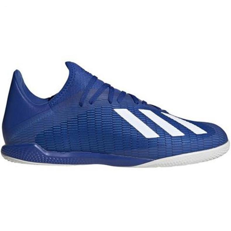 Adidas X 19.3 In M EG7154 voetbalschoenen blauw blauw