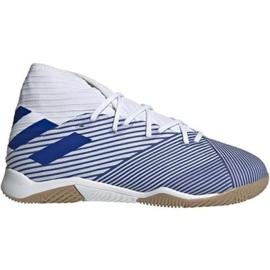 Adidas Nemeziz 19.3 In Jr EG7241 indoorschoenen wit wit, blauw