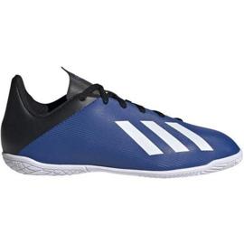 Adidas X 19.4 In Jr EF1623 indoorschoenen blauw blauw