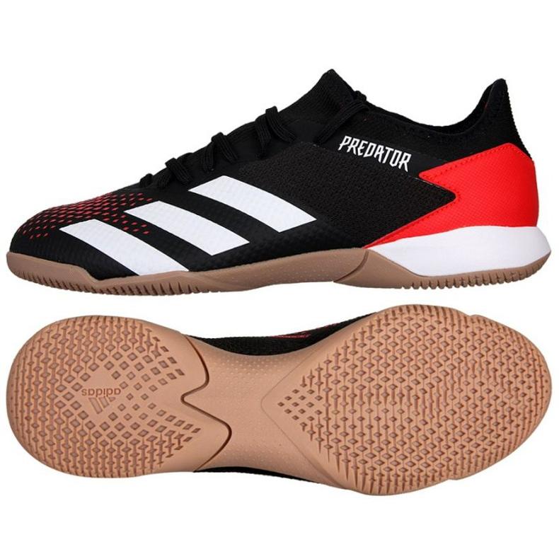 Adidas Predator 20.3 In M EF1993 indoorschoenen zwart zwart, rood