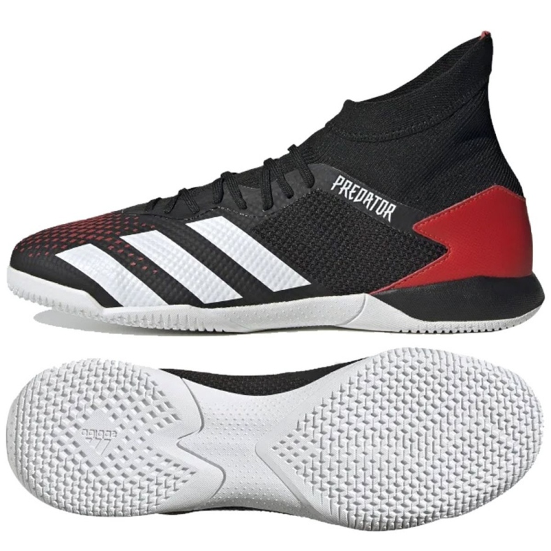 Adidas Predator 20.3 In M EF2209 indoorschoenen zwart zwart, rood