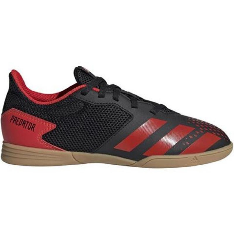 Adidas Predator 20.4 In Sala Jr EF1979 indoorschoenen zwart zwart, rood