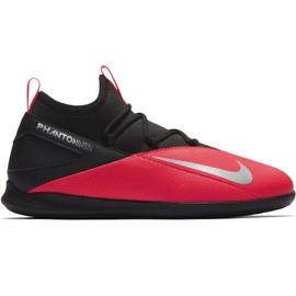 Indoorschoenen Nike Phantom Vsn 2 Club Df Ic Jr CD4072-606 zwart rood