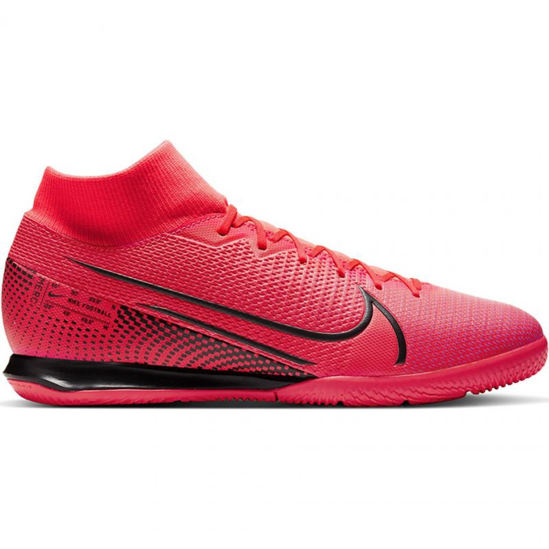 Nike Mercurial Superfly 7 Academy Ic M AT7975-606 indoorschoenen rood rood