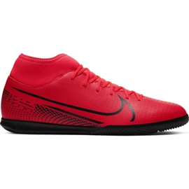 Nike Mercurial Superfly 7 Club Ic M AT7979-606 indoorschoenen rood rood