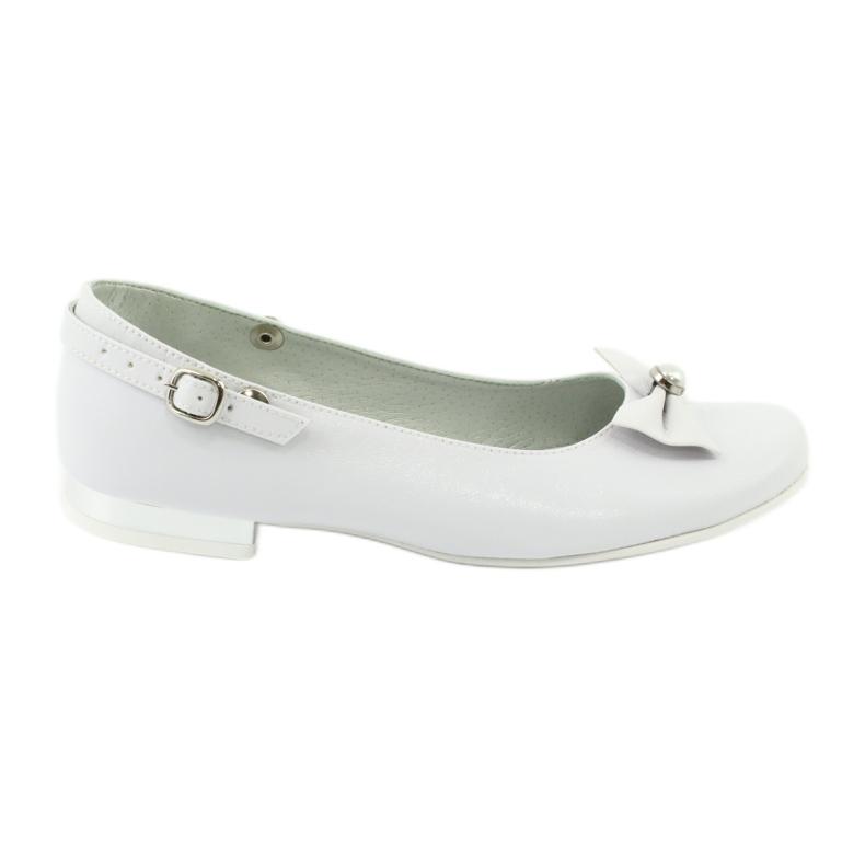 Witte Miko 806 ballerina's grijs