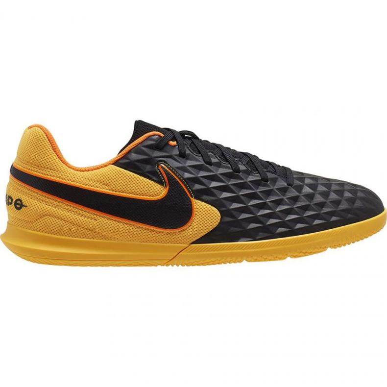 Nike Tiempo Legend 8 Club Ic M AT6110-008 indoorschoenen zwart zwart