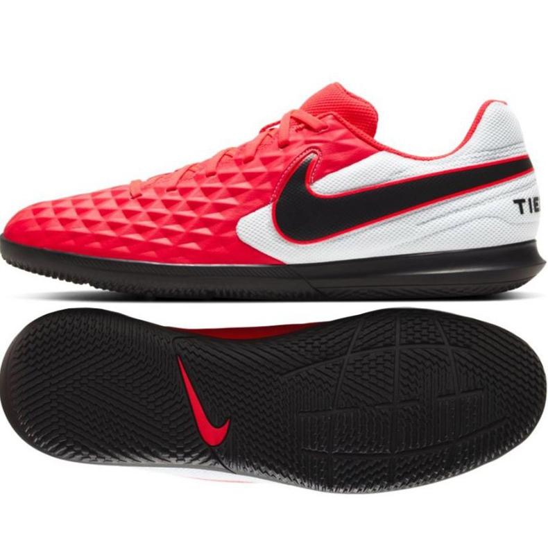 Indoorschoenen Nike Tiempo Legend 8 Academy Club Ic M AT6110-606 rood rood