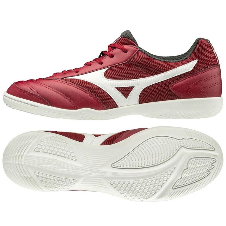 Mizuno Morelia Sala Club M Q1GA200350 indoorschoenen rood rood